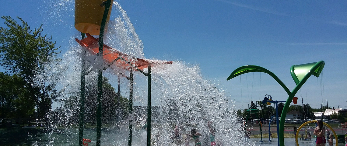 Riverside Park Splash Pad